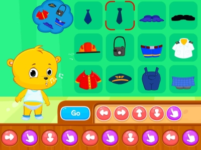 Dress-Up Functions Coding Games For kids