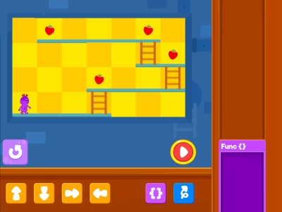 Chomp The Fruits Functions Coding Games For kids