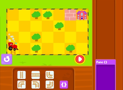Track Builder Functions Coding Games For kids