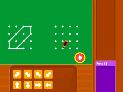 Connect Diagonally  Coding Games For kids