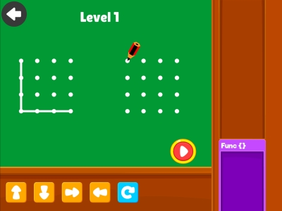Connect The Dots  Loops - Coding Games For kids