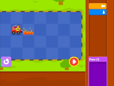 Little Fire Truck  Debugging - Coding Games For kids