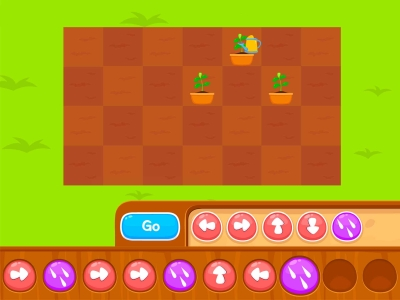 Gardening Time  Coding Games For kids
