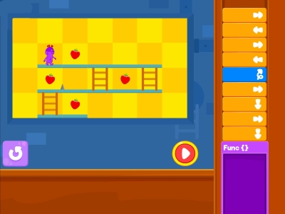 Chomp The Fruits  Debugging - Coding Games For kids