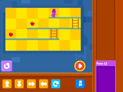 Chomp The Fruits  Loops - Coding Games For kids