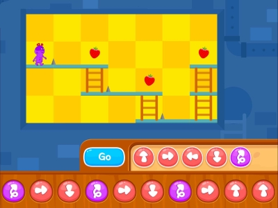Chomp The Fruits  Coding Games For kids