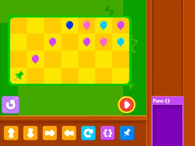 Pop The Balloon  Advance - Coding Games For kids