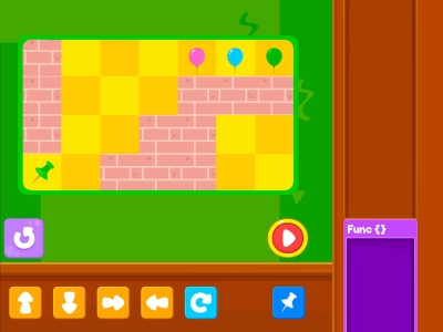 Pop The Balloon  Loops - Coding Games For kids
