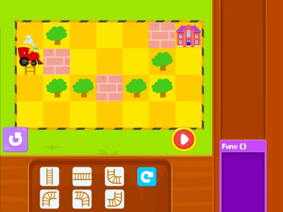 Track Builder  Loops - Coding Games For kids